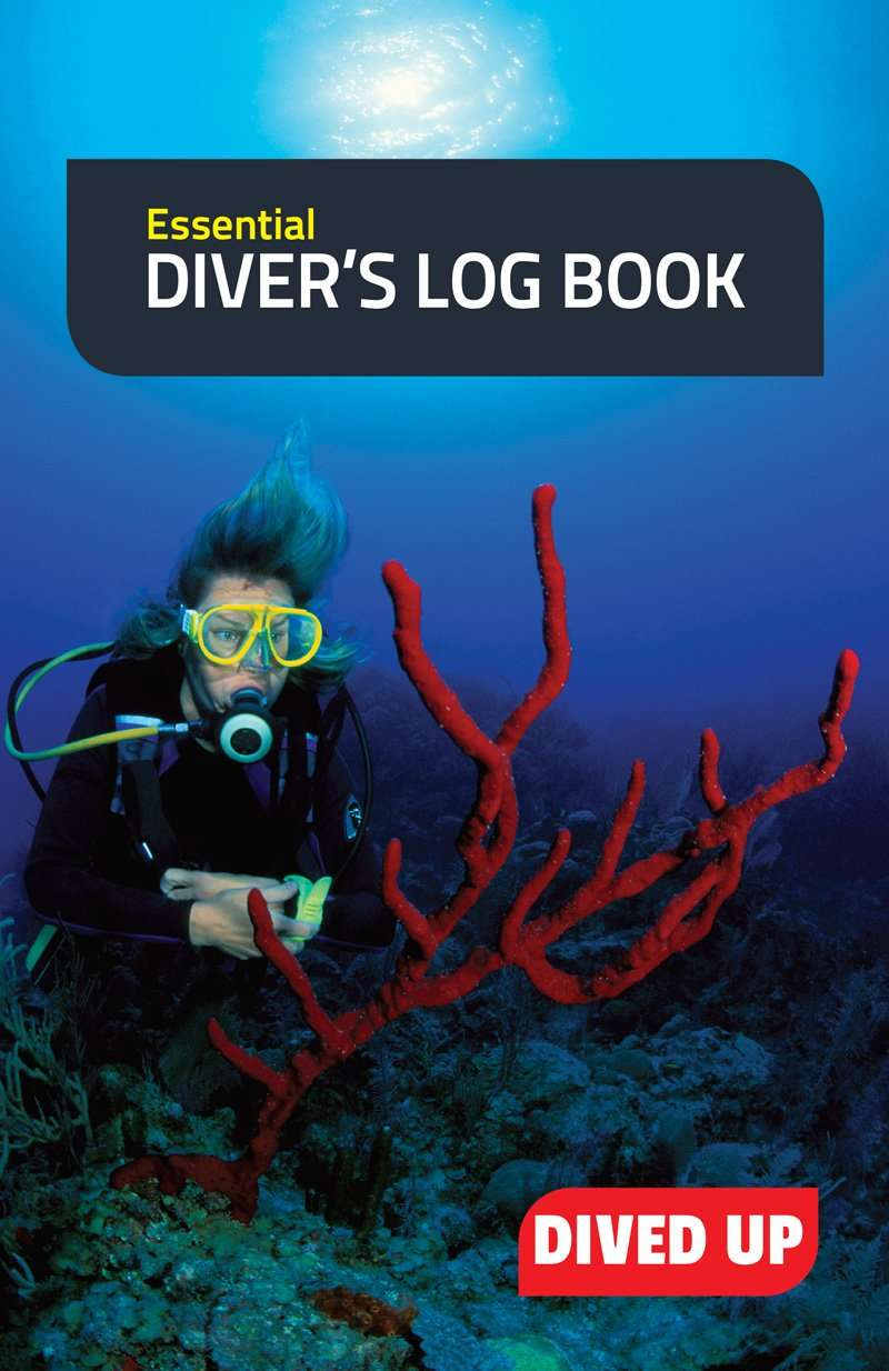 Essential diver 39 s log book by dived up publications - Dive log book ...