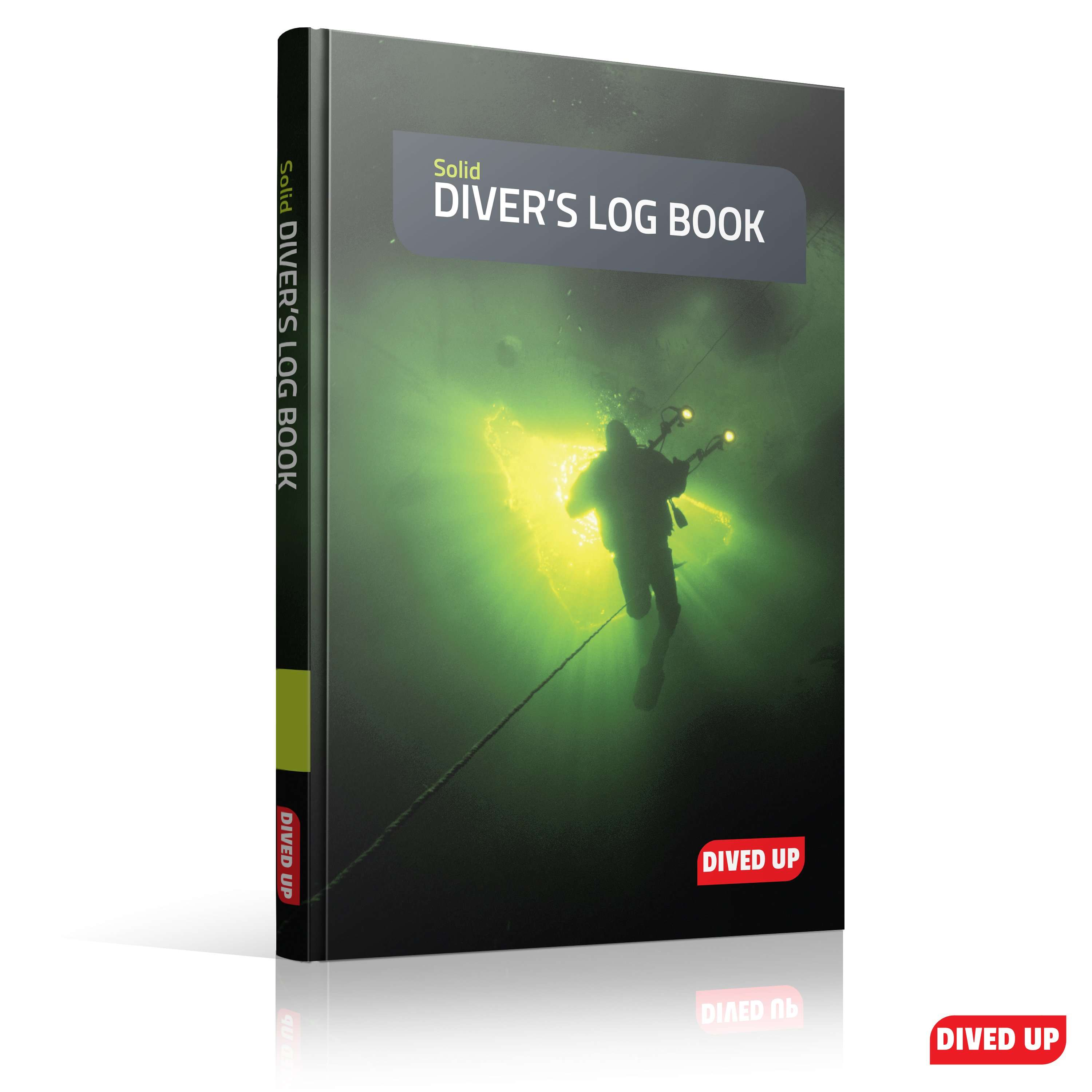 Solid diver 39 s log book the hard wearing diving log book - Dive log book ...