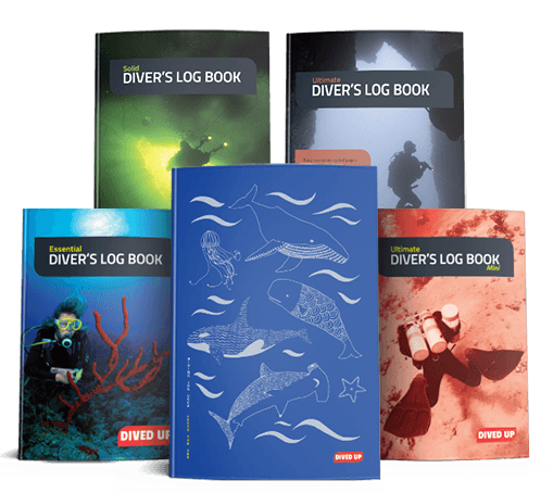Diving Log Books